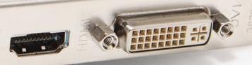 Portul HDMI si DVI