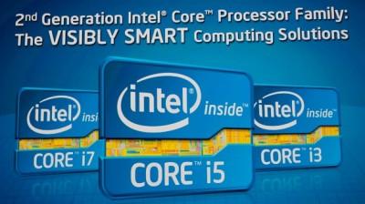 """Logourile care vor fi folosite pentru a doua generatie de procesoare Intel Core """"i"""" (Sandy Bridge)"""